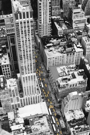 New York City - Yellow - Minolta SRT 100b Rokkor 50mm.