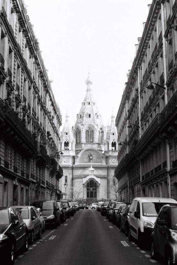 Cathédrale Saint Alexandre Nevsky - Minolta SRT 100b Rokkor 50mm.